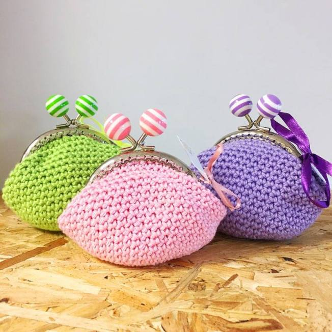 crochet purses raindrops and rainbows