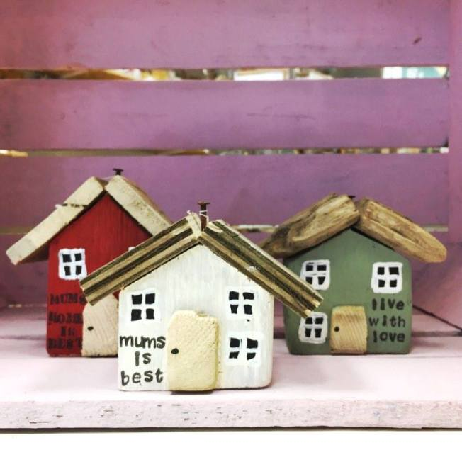 driftwood houses from mum made in ashford