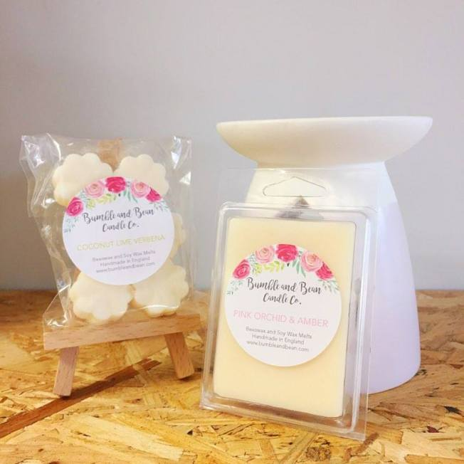floral wax melts made in ashford