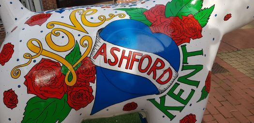 love ashford snow dog