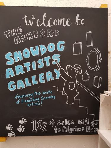 snow dog gallery